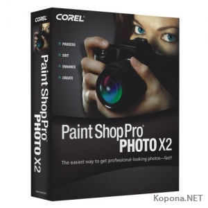Corel Paint Shop Pro Photo X2 v12.01