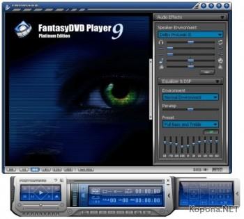 FantasyDVD Player Platinum v9.5.1 Build 508