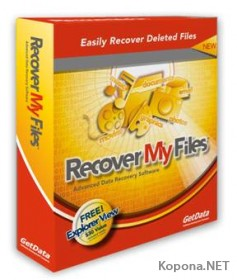 Recover My Files 3.98 Build 5992