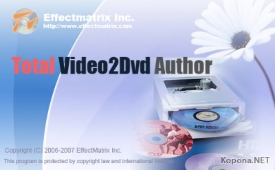 E.M. Total Video2DVD Author 2.45