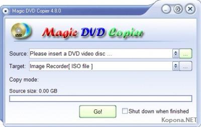 Magic DVD Copier 4.8 Build 3