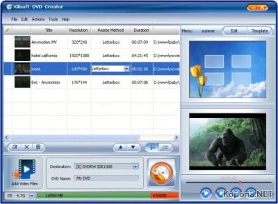 Xilisoft DVD Creator 3.0.36.0425