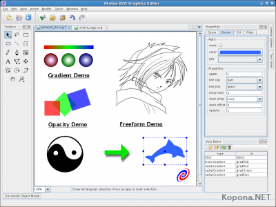Sketsa SVG Graphics Editor v5.1.2