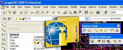 ProgeSoft ProgeCAD 2008 Professional v8.0.18.2