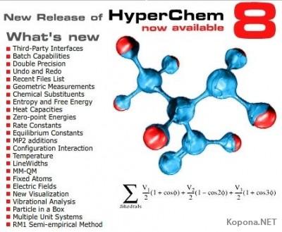 HyperChem v8.04