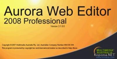 Aurora Web Editor Professional 2008 v4.2.0.0