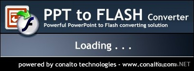 PowerPoint PPT to Flash Converter 2.2