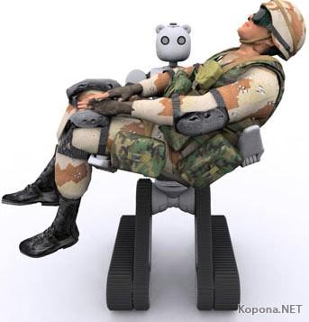 Робот BEAR поможет раненым на поле боя