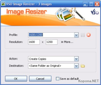 VSO Image Resizer 2.0.1.1