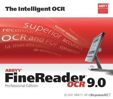ABBYY Finereader 9.0.724 Pro VL Multilanguage