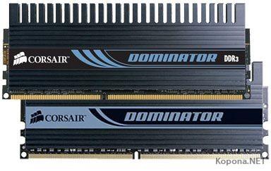 Corsair представляет комплект DDR3-2000 объёмом 4 Гб