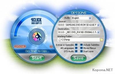 1CLICK DVD Copy 5.4.5.1
