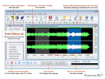 CyberPower Audio Editing Lab v12.8.7