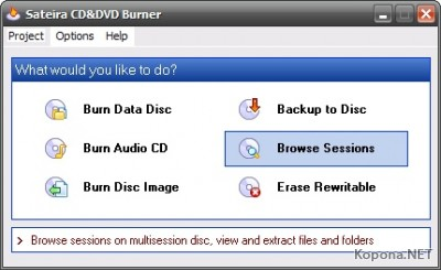 Sateira CD&DVD Burner v2.8