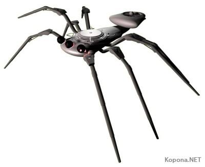 Разведывательный робот-паук для армии США