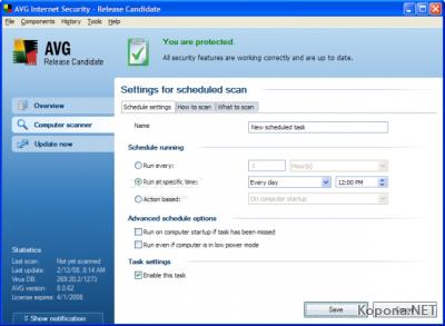 AVG Internet Security 8.0.93 Build 1300
