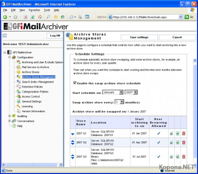 GFI MailArchiver for Exchange v5.0.20080430 x86 / x64