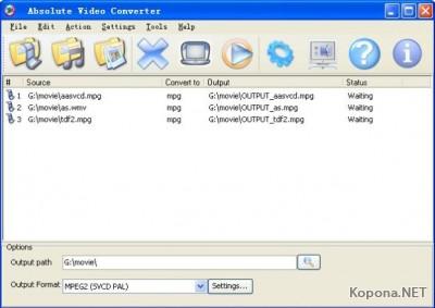 Absolute Video Converter v3.0.7