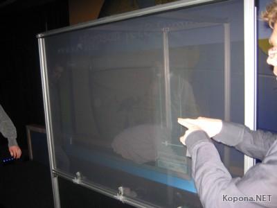 Microsoft TouchWall превратит любую поверхность в cенсорный дисплей