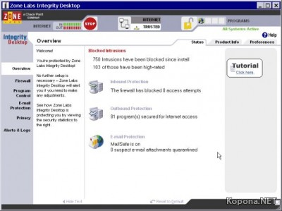Check Point Integrity Desktop v6.5.063.207