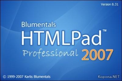 Blumentals HTMLPad 2008 Pro v9.0.0.95 RC