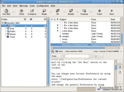 Sylpheed 2.5.0 RC