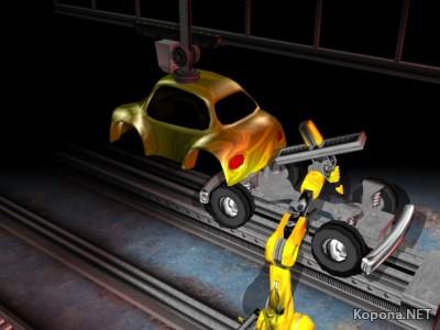 Industrial Robot 3D ScreenSaver v1.0 Multilingual