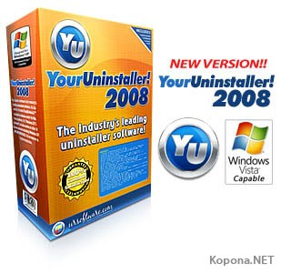 Your Uninstaller! 2008 Pro 6.1.1252