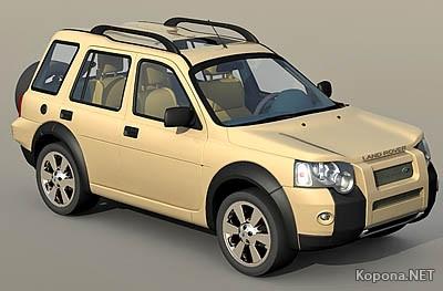 Freelander 3D Car Model (.max)