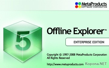 Offline Explorer Enterprise 5.1.2804 Multilanguage