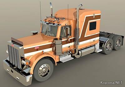 PeterBilt Truck 3dmodel
