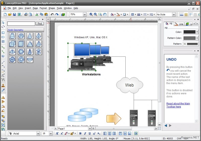 Conceptdraw office 2