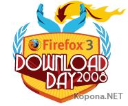 За неделю загружено более 19 млн копий Firefox 3