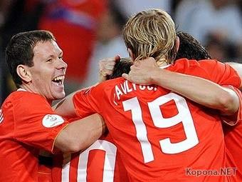 Новая победа - Сборная России вышла в плей-офф на Евро-2008