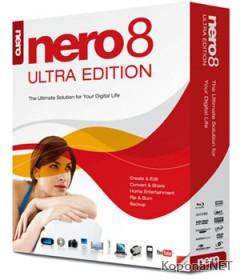 Nero 8 Ultra Edition 8.3.6.0 Rus / Eng
