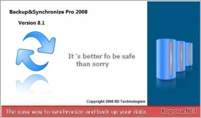 Backup Synchronize 2008 v8.1.333