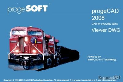 ProgeCAD 2008 Viewer DWG v8.0.18.25