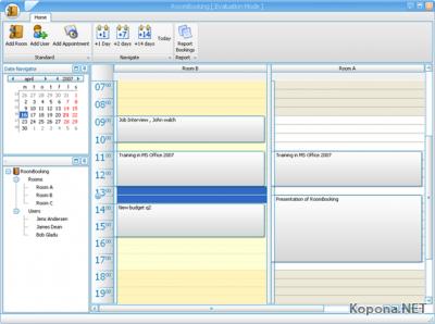 BMG Software RoomBooking v1.0