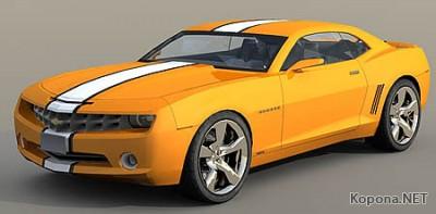 Chevrolet Camaro 3D Car Model