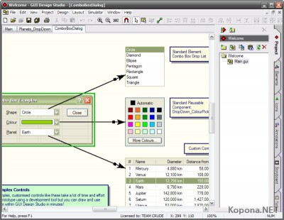 GUI Design Studio v3.0.83.0