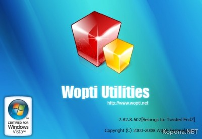 Wopti Utilities Special Edition v7.83.8.721