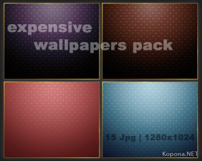 Expensive Wallpaper pack