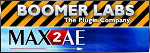 BoomerLabs MAX2AE v3.0 for 3DSMax