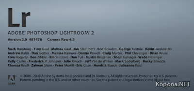 Adobe Photoshop Lightroom v2.0.481478 (+ Rus)