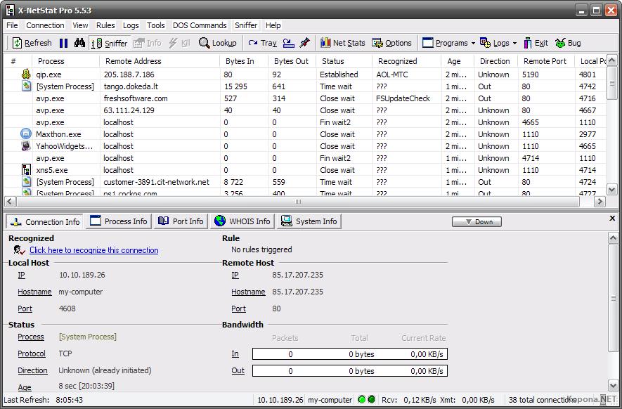Скачать программы для обработки аудио и видео файлов. X-NetStat Profession