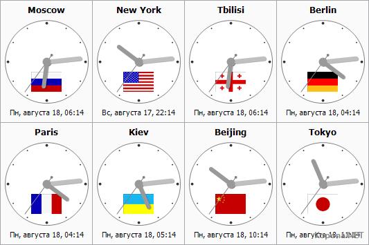 Sharp World Clock v3 21 » Скачать бесплатно программы для