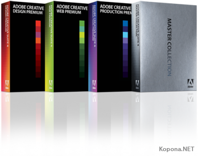 Adobe Creative Suite 4 - новая линейка программ от Adobe