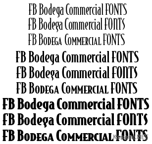 FB Bodega Commercial FONTS