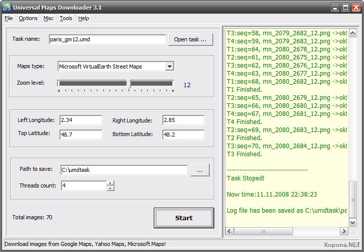 Universal Maps Downloader v3 5 » Скачать бесплатно программы