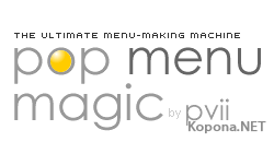 PVII Pop Menu Magic 2 v1.28 For Dreamweaver FOSI